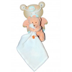 Peluche Doudou Ourson calin Baby nat' (2653)