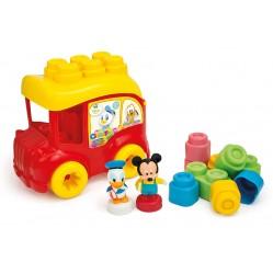 Clementoni -  Le Bus de Mickey - Disney - Bloc Premier age (2658)