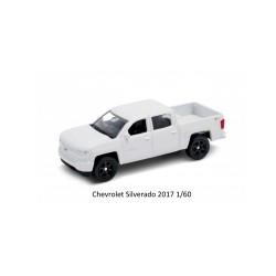 Voiture Miniature en métal 1/60 Chevrolet Silverado 2017 (2708)