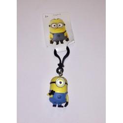 Porte clé Minion Carl 4,5 cm (2743)