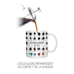 Mug tasse Magique Monsieur Madame (2751)