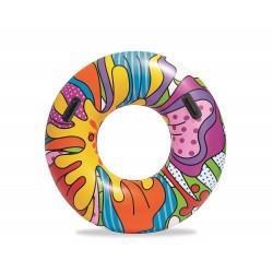 Bestway -Bouée gonflable fashion Pop 119 cm de diametre  (2786)