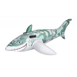 Partner - Bouée Gonflable - Requin Chevauchable - 183 X 102 Cm (2805)