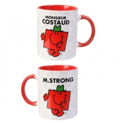Mug tasse Monsieur Madame: Monsieur Costaud  (2762)
