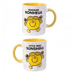 Mug tasse Monsieur Madame: Madame Bonheur  (2580)