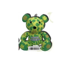 "Peluche ourson lycra 18 cm  ""message"" (771)"