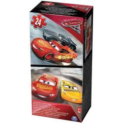 Boîte Carton 2 Puzzles Lenticulaires Cars 3 (2813)