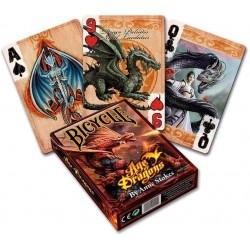 US Playing Card Co. - Carte Bicycle Age of Dragons (2835)