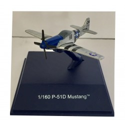 Avion de guerre miniature 1/160 P-51D Mustang (2855)