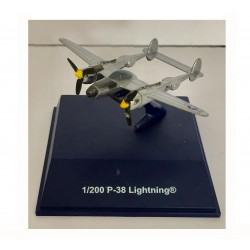 Avion de guerre miniature 1/200 P-38 Lightning (2857)