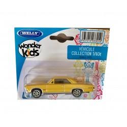 Welly : Vehicule miniature 1/60 en métal Pont iac GTO (2866)