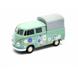 Welly  Véhicule miniature metal  Volkswagen T1 double cabine pick up 1/36 (2896)