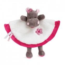Baby Nat' - Peluches et Doudous - Doudou Hippopotame Zoé 25 cm (2933)