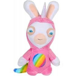 Peluche sonore lapins crétins Licorne 20 cm super héros (2968)