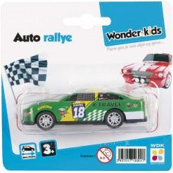 WDK :Véhicule miniature rallye 1/64 aléatoire (3005)