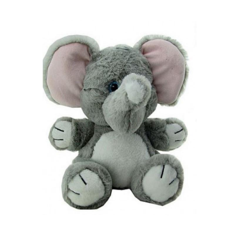 Peluche Eléphant tout doux 28 cm de haut environ (3011)