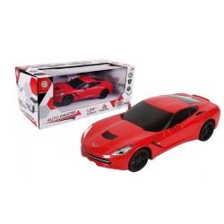 MGM - Voiture Miniature  1/24 Corvette C7 rouge (3015)