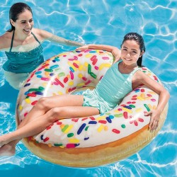 INTEX Jouet Tube Donut Sprinkle, Nylon/A, 99cm x 25cm  (2826)