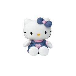 Peluche Hello Kitty en Jean - 15 cm (3063)