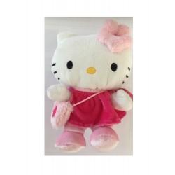 Peluche Hello Kitty en robe rouge - 15 cm (3065)