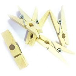 10 pinces à linge magnetique pour la déco 3,5 cm (3080)