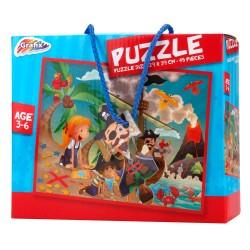 Puzzle enfant 45 pieces taille 29 x 39 cm Modèle aléatoire (3086)