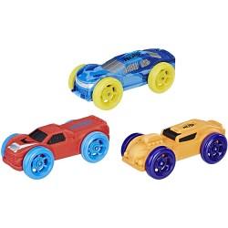 Nerf Nitro Pack de 3 voitures en mousse (3092)
